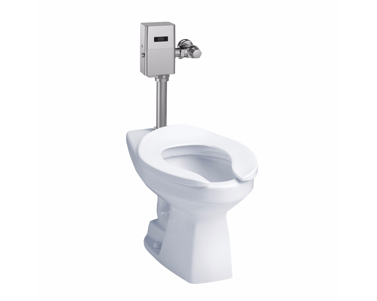 Commercial 1G Flushometer High Efficiency Toilet, ADA Compliant ...